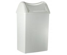 Корзина пластмассовая с крышкой 42л 820+821