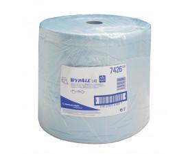 Бумажные протирочные салфетки WYPALL L40 большой рулон синий 7426