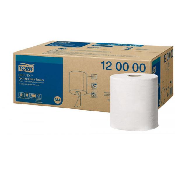 Бумажные полотенца с центральной вытяжкой TORK REFLEX 120000