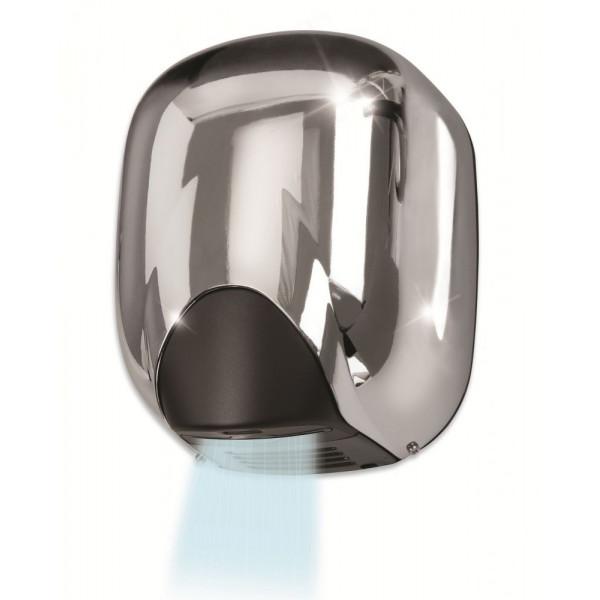 Сушилка для рук металлическая глянцевая VAMA ECOFLOW 550 LF