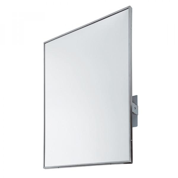 Зеркало с окантовкой из нержавеющей стали поворотное EP0300CS