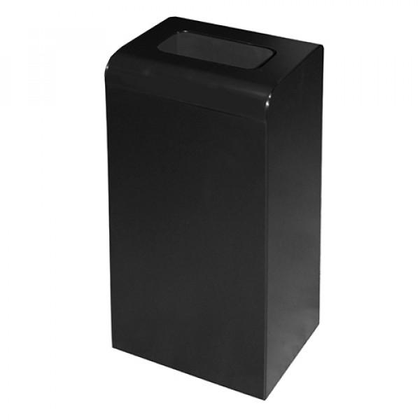 Урна для мусора чёрный металл 47л M-147Black