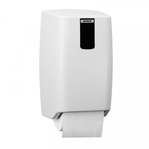 Диспенсер Katrin для 2 рулонов туалетной бумаги 953487 KATRIN