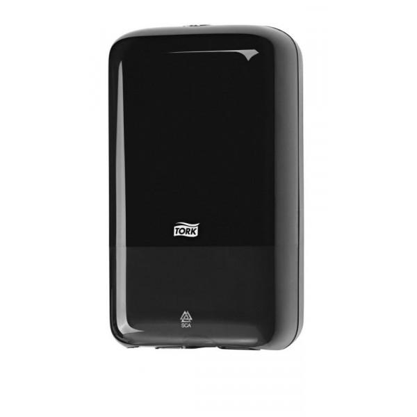 Диспенсер для листовой туалетной бумаги Tork черный 556008