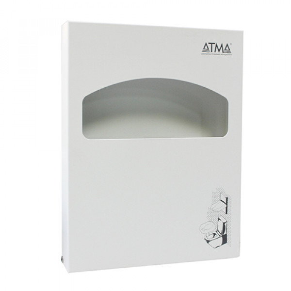 Держатель накладок на унитаз MINI белый металл D224W
