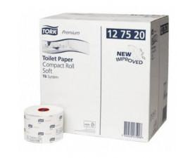 Туалетная бумага в рулонах Tork Premium супер мягкая 127510