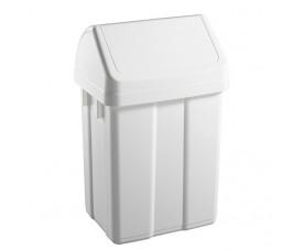 Корзина для мусора с поворотной крышкой 50л 5060
