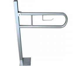 Поручень для инвалидов откидной на стойке MB-0103-S