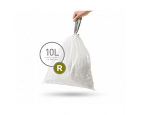 Мешки для мусора плотные с завязками 10л CW0253
