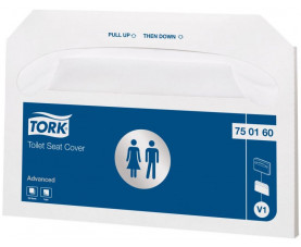 Покрытия на унитаз Tork Advanced 750160