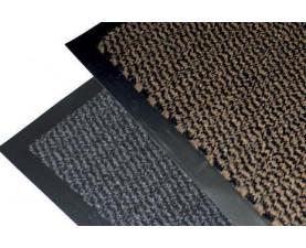 Грязезащитный коврик Лейла 90х120 серый