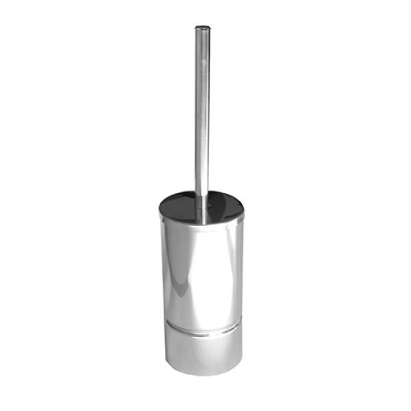 Щетка для унитаза металлическая глянцевая LS095
