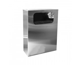 Урна для мусора нержавеющая сталь глянцевая 10л M210С