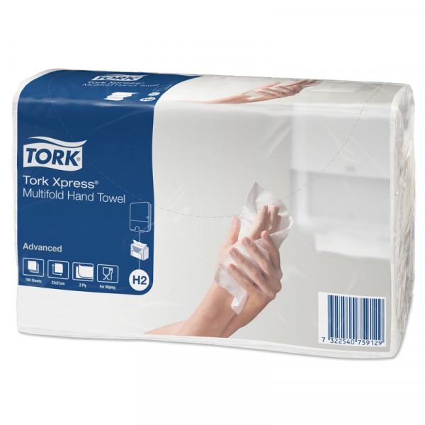 Бумажные полотенца листовые TORK XPRESS 471117