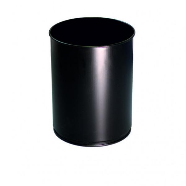 Корзина офисная чёрная 12л M-812B