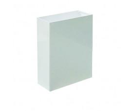 Урна для бумажных полотенец белая 16л M-116W