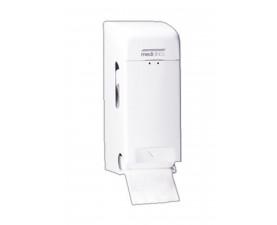Держатель бумаги туалетной стандарт белый металл PR0784
