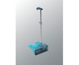 Совок с рукояткой для мусорного пакета Хай-Спид 512362 Vileda