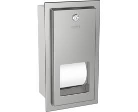 Держатель туалетной бумаги стандарт двойной встраиваемый RODX672E
