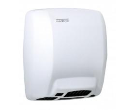Сушилка для рук металлическая белая MEDIFLOW M03A