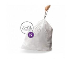 Мешки для мусора плотные с завязками 35-45л CW0260