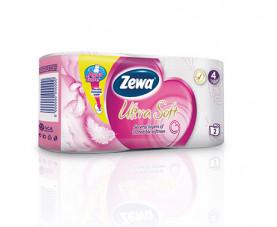 Туалетная бумага Zewa Ultra Soft Exclusive 2 шт. в упаковке