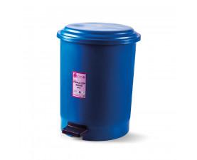 Корзина для мусора с педалью синий пластик 30л PK-30 107