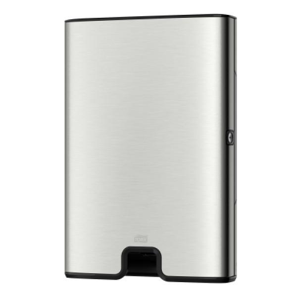Диспенсер бумажных полотенец Tork Xpress® Multifold нержавеющая сталь 460004