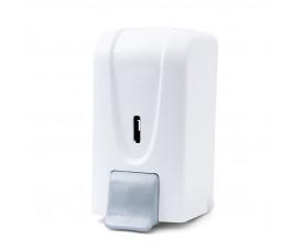 Диспенсер дезинфецирущего средства, мыла и мыла-пены 1л белый пластик DSA 100