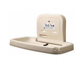Пеленальный столик настенный откидной горизонтальный KB200-00-INB