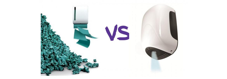 Что выбрать: сушилки для рук или бумажные полотенца?