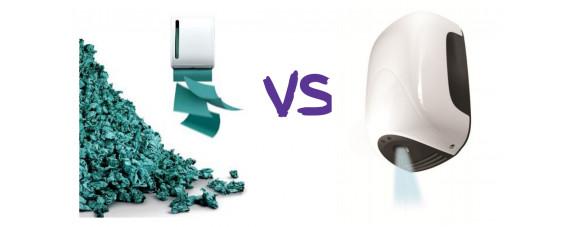 Що вибрати: сушарки для рук або паперові рушники?