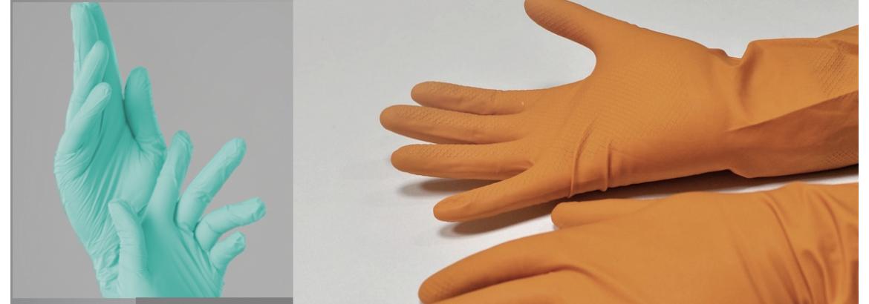 Перчатки нитриловые или латексные: что лучше?