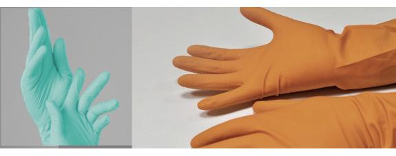 Рукавички нітрилові або латексні: що краще?