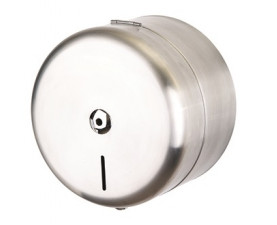 Диспенсер для туалетной бумаги с центральной вытяжкой нержавеющая сталь 11372