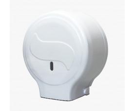 Диспенсер для туалетной бумаги джамбо белый пластик JTA 100 N