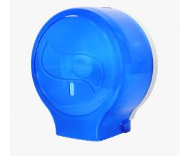 Диспенсер для туалетной бумаги джамбо синий пластик JTA 108 N