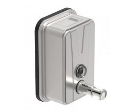 Дозатор для жидкого мыла нержавеющая сталь матовая 0,5л. 13420