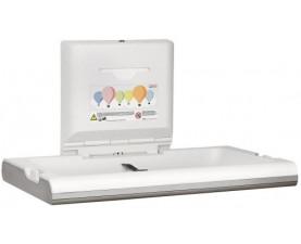 Пеленальный столик настенный откидной горизонтальный CP0016HCS
