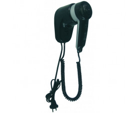 Фен для волос чёрный пластик SC0010CS